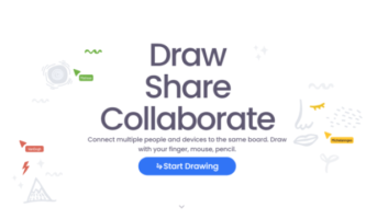 Free Online Collaborative Whiteboard with Monitor Feature