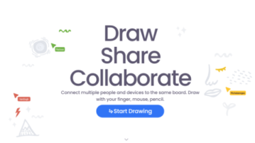 share and monitor online whiteboards