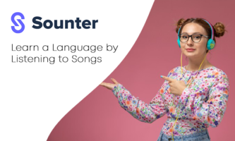 Learn a Language by Listening to Songs: Sounter