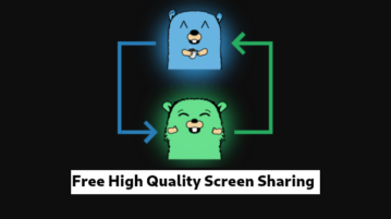 Free Multiple user screen sharing with High resolution, low latency