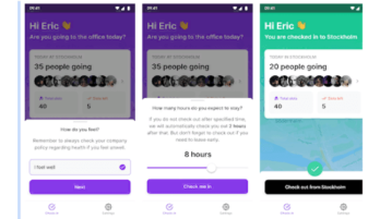 Free Office Check-Ins app to track Number of People