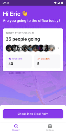 Free Office Check-Ins app to track Number of People at your Office