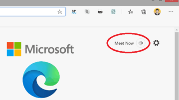 Host Skype Meeting in 1 Click with Microsoft Edge's NewMeet Now Feature