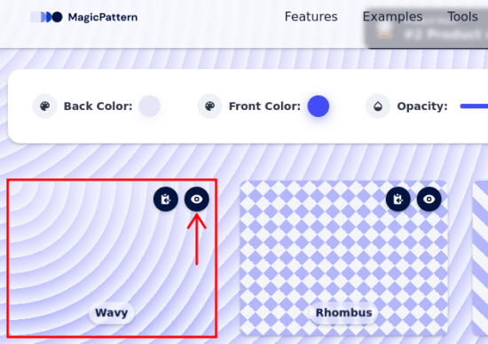MagicPattern preview