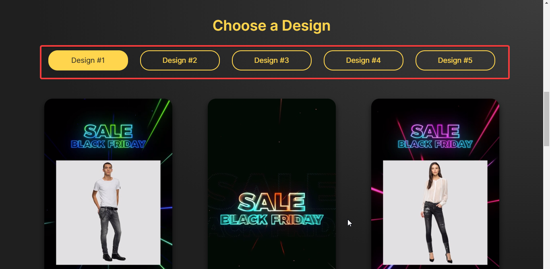 Select the design