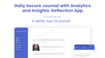 Daily Secure Journal with Analytics and Insights: Reflection App