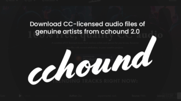 Download CC-licensed audio files of genuine artists from cchound 2.0