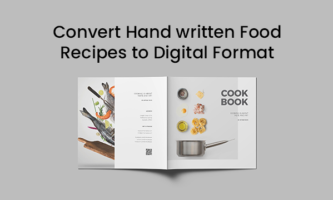 Free app to scan printed or handwritten food recipes