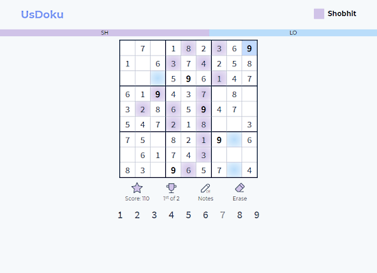 play sudoku online with friends