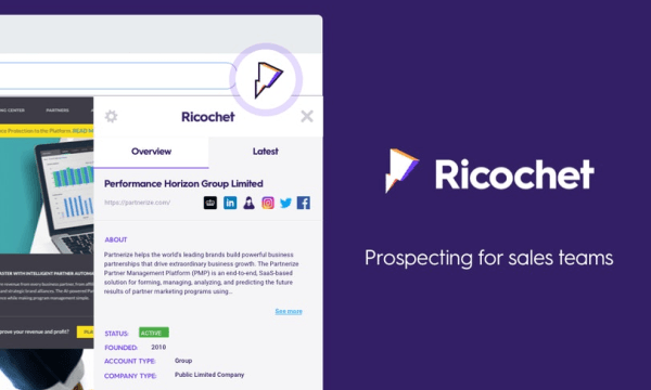 Get B2B Leads on Any Business Website in 1-Click: Ricochet
