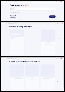 Create the website