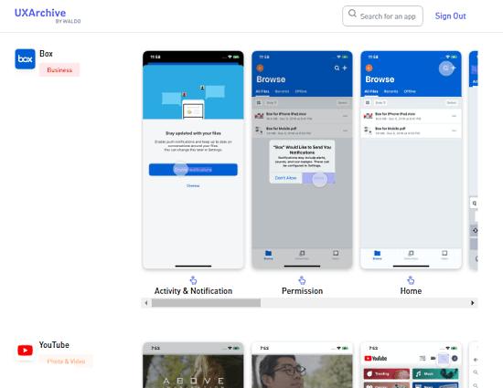 download ux trends of popular apps