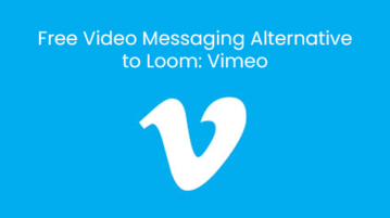 Free Video Messaging Alternative to Loom: Vimeo