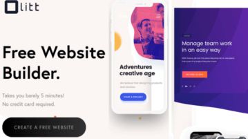 Free Website Builder with Payments Collection, Custom Domain Olitt