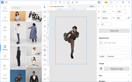 How to Use AI Background Remover and Sketch Cloud in Lunacy Editor