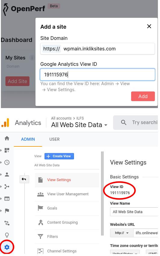 OpenPerf add website