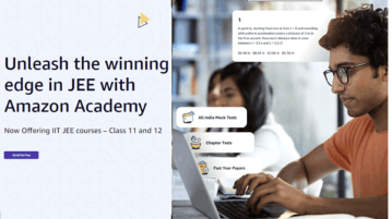 Take live JEE Mock Tests Free Online with Amazon Academy India
