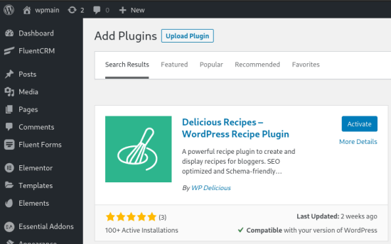 WP Delicious Plugin in Store
