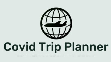 Free Covid Trip Planner with 8-Week COVID-19 Risk Assessment
