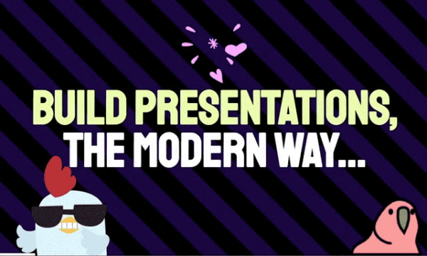 Create Presentation Slides with Plain Text using this Free Website