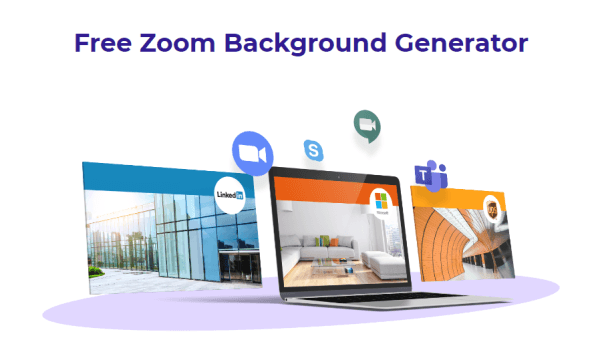 Create Branded Background for Zoom Meetings for Free