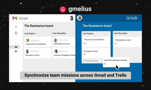 Manage Trello Boards in Gmail for Real-time Team Collaboration