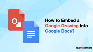 How to Embed a Google Drawing Into Google Docs?