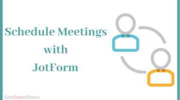 How to Schedule Parents-Teacher Meetings using JotFrom?