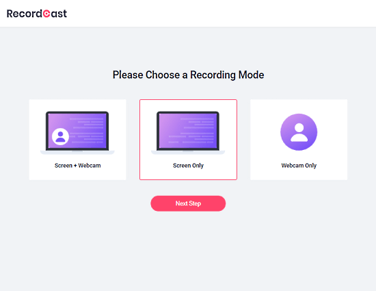 select what you want to record
