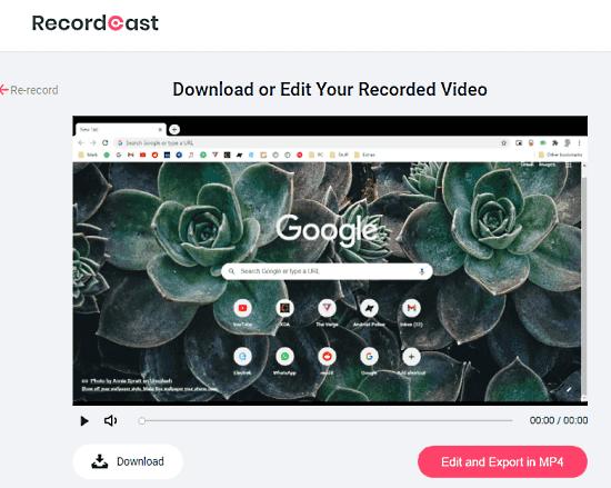 download screen recording