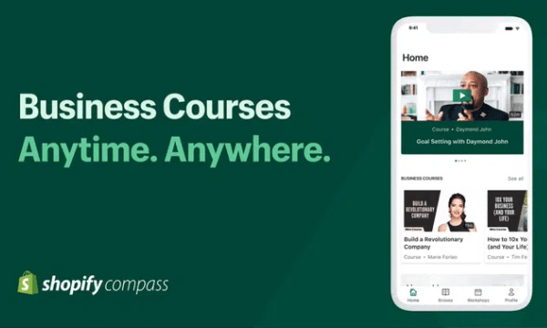 Shopify Compass: Learn Free Business and Marketing Skills