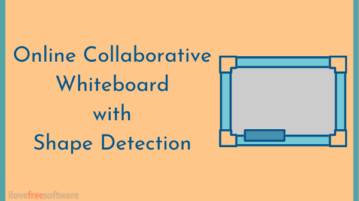 Free No-Signup Online Collaborative Whiteboard with Shape Detection