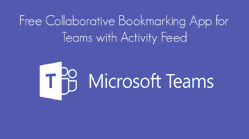 Free Collaborative Bookmarking App for Teams with Activity Feed