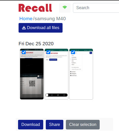 Free File Server for Android to Share Files from Phone to PC Recall