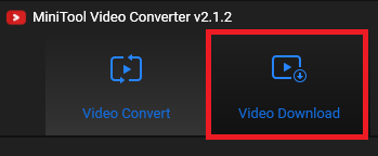 Minitool Video Converter downloader