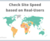 Check Website Speed based on Real-Users Data Free