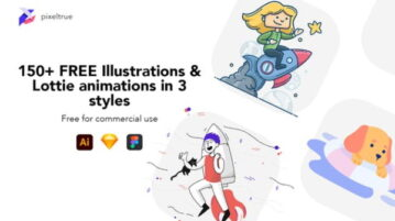 Download Free Vector Illustration Animations for Figma, Sketch
