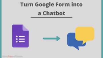 How to Create Chatbots using Google Forms for Free?