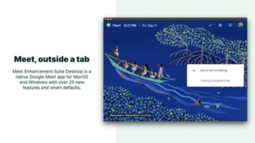 Free Google Meet Desktop Client for Windows, macOS