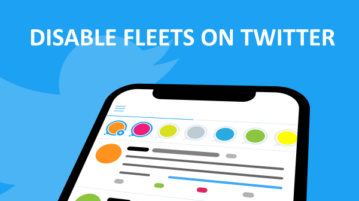 How to Disable Fleets on Twitter on Android?