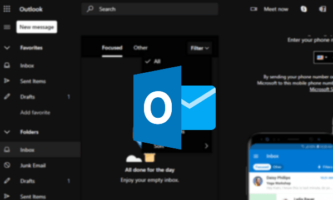 Add Dark Mode to Outlook.com, Remove Ad Sidebar with this Extension