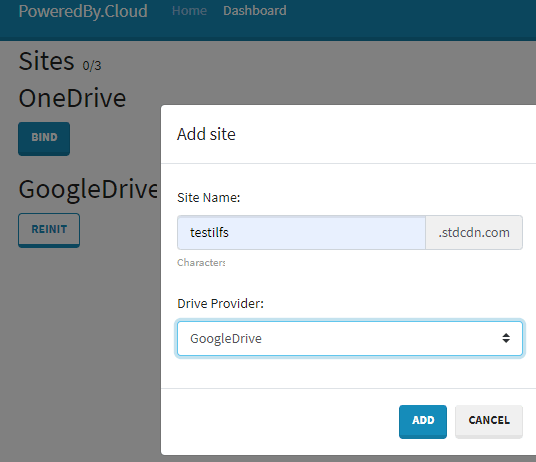 Create URL for the CDN
