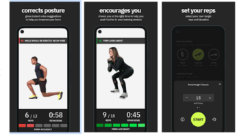 Fitness Training Assistant with Posture Correction Physique AI