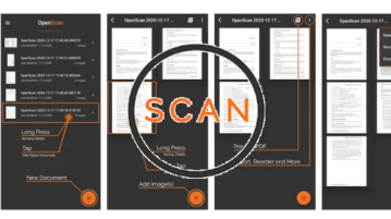 Free Open Source Document Scanner app with No Data Collection OpenScan