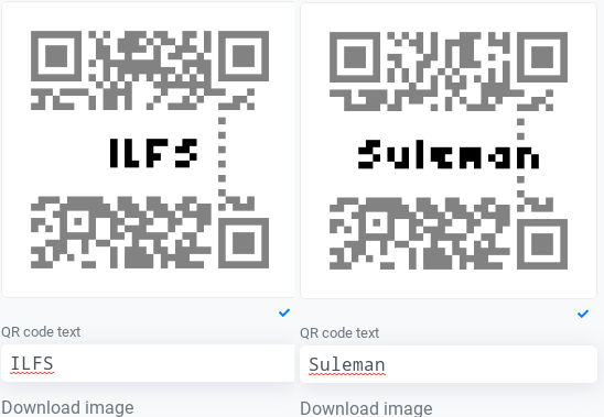 Free QR Code Generator with Text in Code Pattern qr new