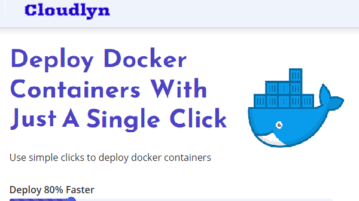 Free Tool to Deploy, Host Docker Images in 1 Click Cloudlyn