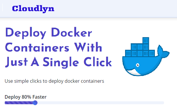 Free Tool to Deploy, Host Docker Images in 1 Click: Cloudlyn