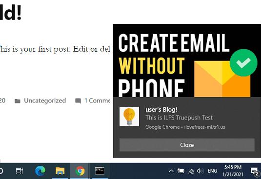 Free Unlimited Push Notifications Plugin for WordPress by Truepush