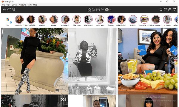 Instagram Grids Explore