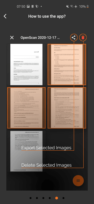 Open Source Document Scanner app with No Data Collection OpenScan